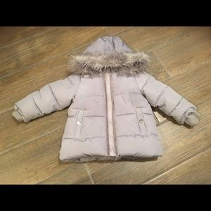 Jessica Simpson baby girl coat size 12m